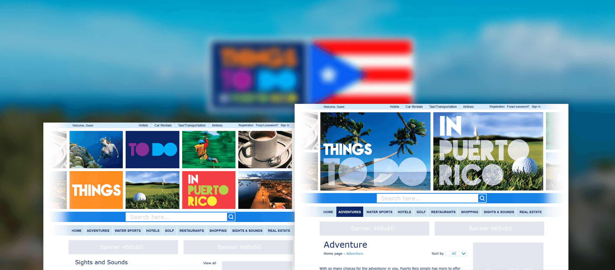 New vision of website Thing To Do In Puerto Rico